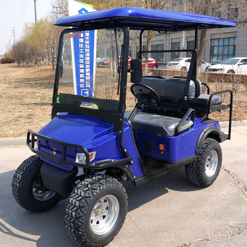 Golf Cart L2C Blue