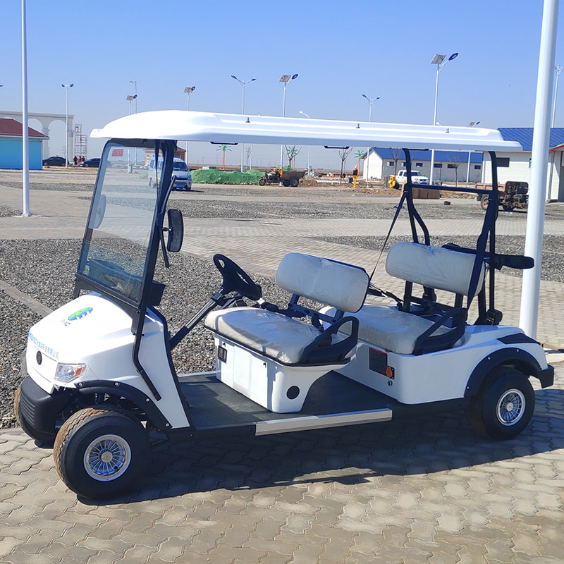 Golf Cart L4 White