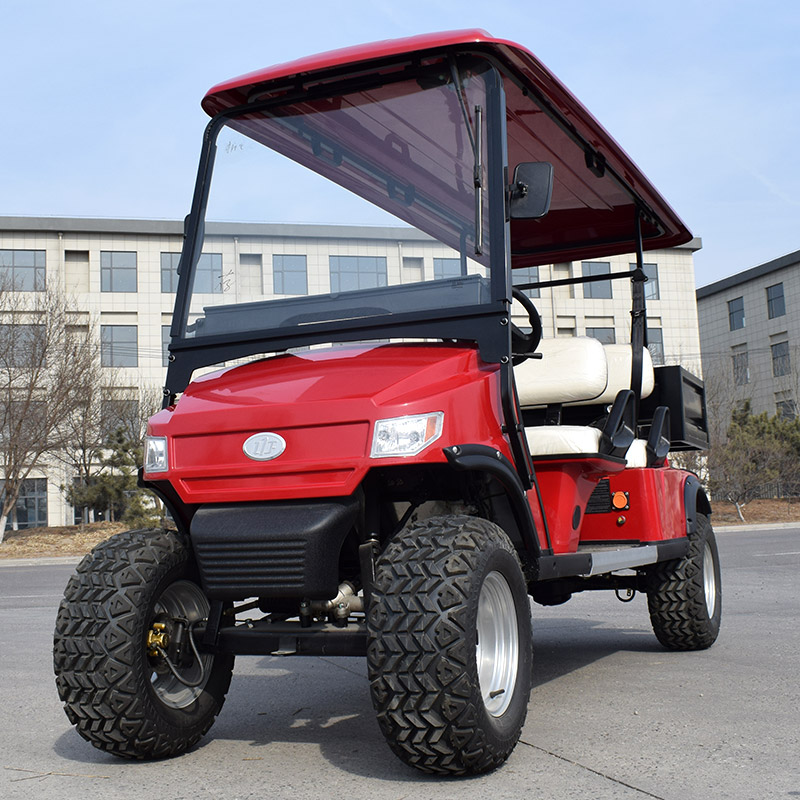 Golf Cart L4B Red